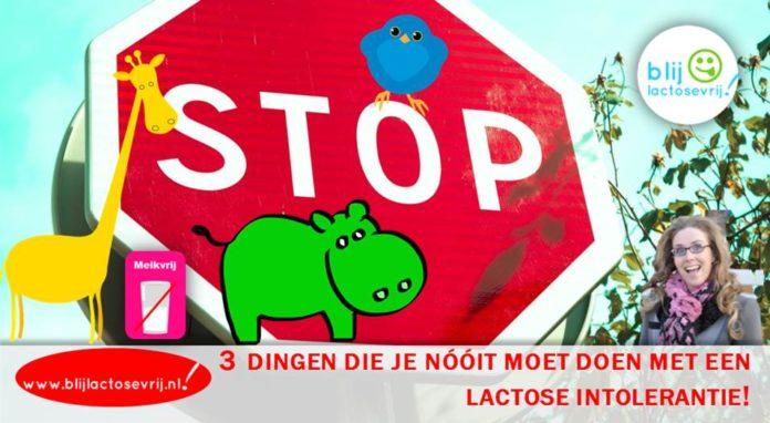 3 dingen die je nooit moet doen met een lactose intolerantie
