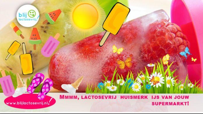Lactosevrij ijs huismerk supermarkt