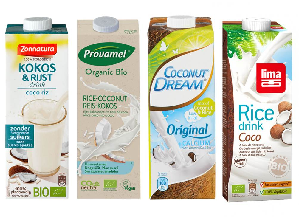lactosevrije kokos rijstmelk