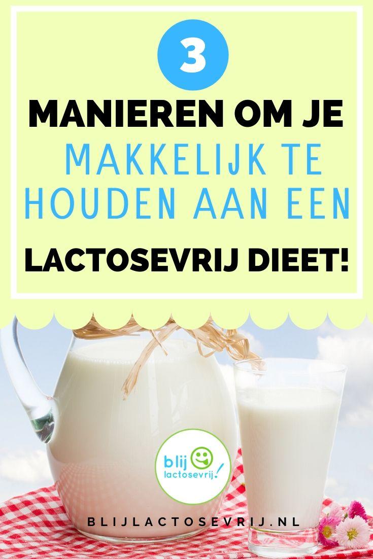 3 manieren om je makkelijk te houden aan een lactosevrij dieet