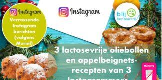 Lactosevrije appelbeignets en lactosevrije oliebollen glutenvrij