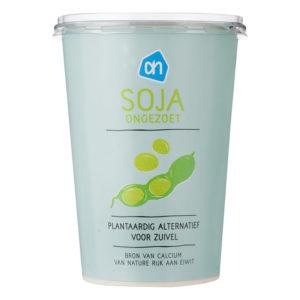 AH Plantaardige variatie op Yoghurt albert heijn soja yoghurt