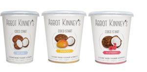 Abbot Kinney's coco start ekoplaza kokosyoghurt mango framboos