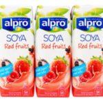 Alpro Sojadrink Rode vruchten 3 x 250 ml
