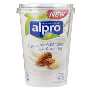Alpro yoghurt amandel amandelyoghurt albert heijn jumbo