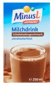 MinusL Lactosevrije Melkdrank Chocoladesmaak