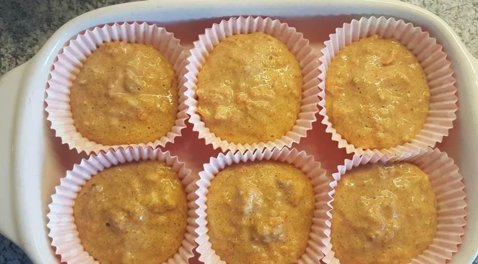 Recept lactosevrije wortelmuffins met noten en honing