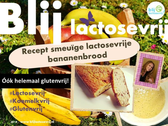 lactosevrije bananenbrood