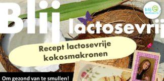 lactosevrije kokosmakronen