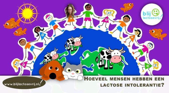 Hoeveel mensen hebben een lactose intolerantie in Nederland en België