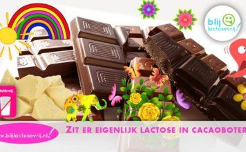 Zit er lactose in cacaoboter en kun je cacaoboter eten met een lactose intolerantie?