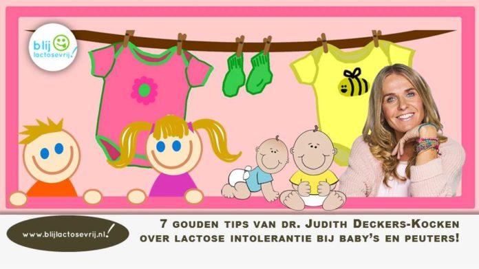dr. Judith deckers-Kocken lactose intolerantie baby en peuter en baby's en peuters