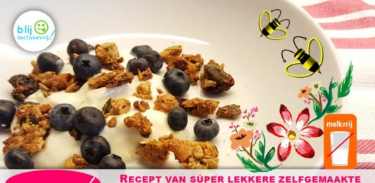 Recept lactosevrije en glutenvrije cruesli