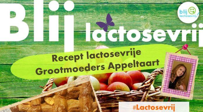 recept lactosevrije grootmoeders appeltaart lactosevrij koemelkvrij