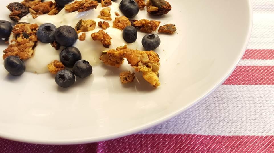 zuivelvrije melkvrije glutenvrije cruesli ontbijt tip
