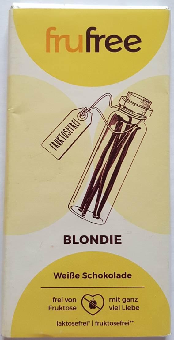 frufree witte chocolade blondie