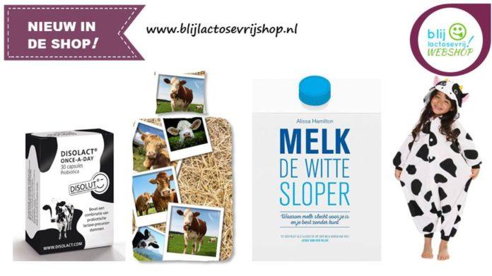 nieuw in de shop blij lactosevrijshop 22 juni 2018