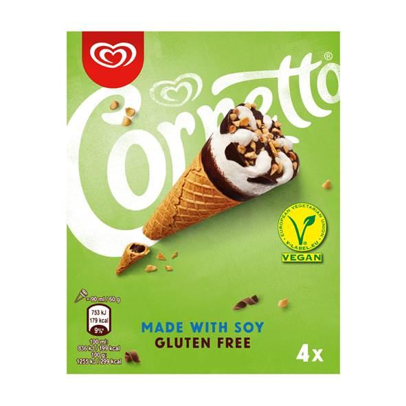 Cornetto vegan lactosevrije ijs ijsjes