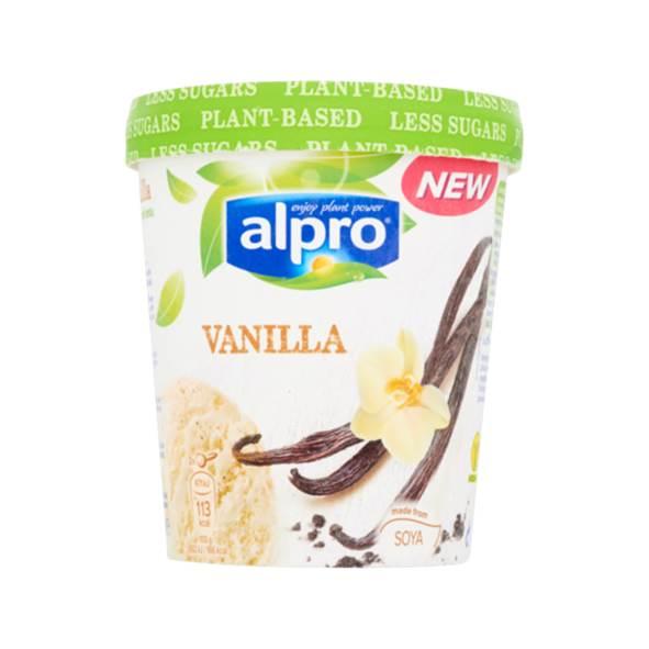 alpro ijs plus supermarkt lactosevrij ijs