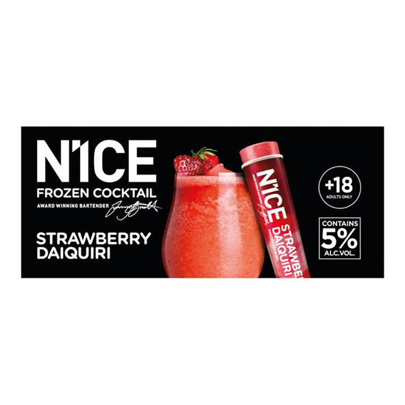 n1ce strawberry cocktail lactosevrij ijs waterijs
