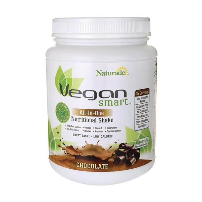 naturade vegan smart all in one eiwitshake vegan lactosevrij