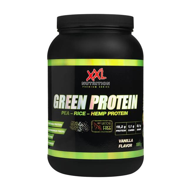 xxl green protein lactosevrije shake eiwitten