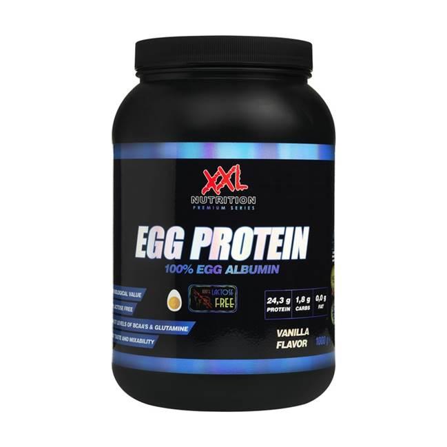 xxl nutrition egg protein eiwit shake lactosevrij koemelkvrij