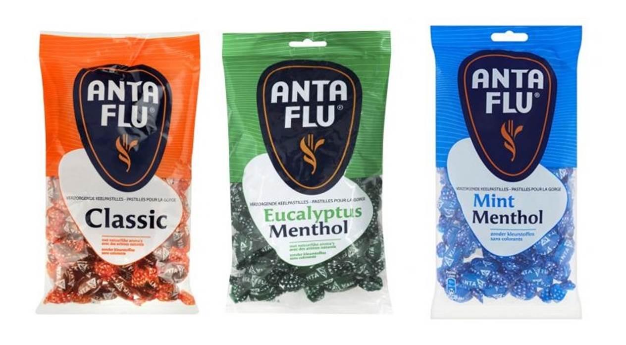 anta flu lactosevrije keelpastilles keeltabletten keelsnoepjes