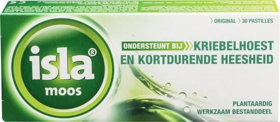 isla lactosevrije keelpastilles keel tabletten