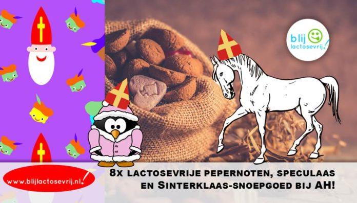 8x lactosevrije pepernoten speculaas en sinterklaas snoepgoed bij albert heijn