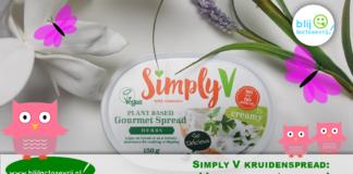 simply v kruidenspread lactosevrij vegan glutenvrij