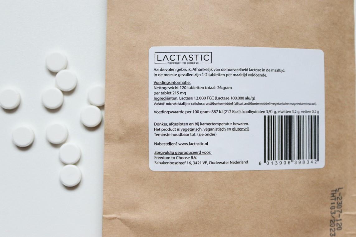 lactase tabletjes tabletten van lactastic