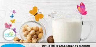 ideale notenmelk in de koffie zelf maken