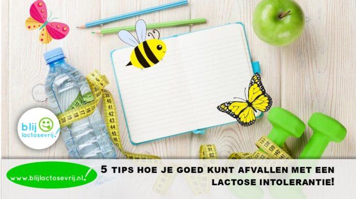 5 tips hoe je goed kunt afvallen met een lactose intolerantie